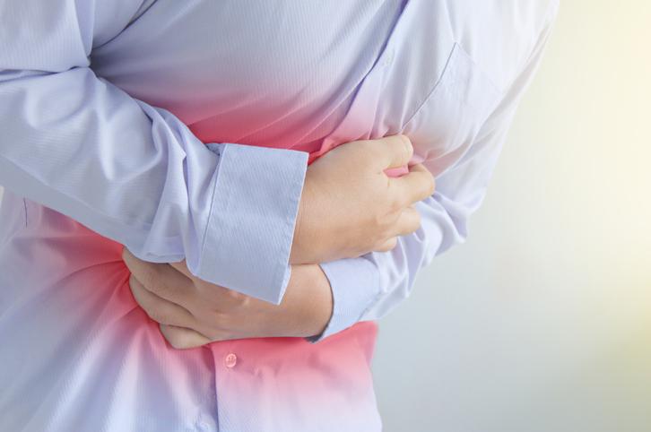 Male stomachache